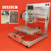 DIY Mini 3 Axis CNC Router Engraver Carving Engraving Machine For PCB PVC Wood