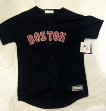 Boston Red Sox Youth Large Navy  Alternate Game  Jersey.