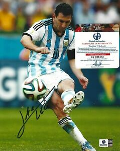 LIONEL LEO MESSI SIGNED AUTOGRAPHED 8 x 10 PHOTO w COA FC Barcelona PSG soccer