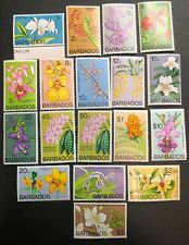 Stamp Vault - Barbados #396-411 MNH Set - 1c to $10