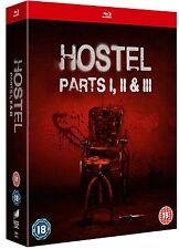 HOSTEL TRILOGY 1-3 [Blu-ray Box Set] Horror Movie Collection 1 2 3 Unseen Ed.