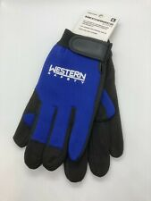 Western Safety Mechanics Gloves for Shop, Industrial, Machining, Yard Work
