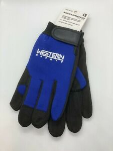 Western Safety Mechanics Gloves for Shop, Industrial, Machining, Yard Work
