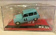 SCX 1/32 Slot Car A10070 Renault 4L #44 Rally 1963 Monte Carlo w/ LIGHTS! - NEW!