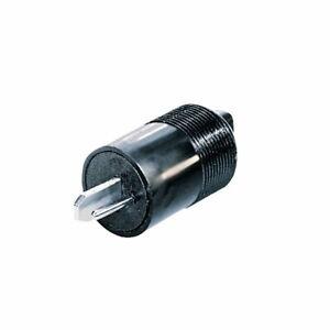 4x Lautsprecherstecker Boxen Lautsprecher Stecker DIN41529 schraubbar schwarz