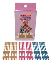 32x Mix Cross Kindmax 4 Farben 21mm x 27mm Kinesiologie Tape Kinesiology
