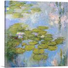 ARTCANVAS Nympeas 1916 Canvas Art Print by Claude Monet