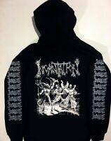 INCANTATION Hoodie Immolation Mayhem MORBID ANGEL hooded WATAIN shirt VON S- XL