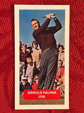ARNOLD PALMER GOLF CARD VERY SCARCE & RARE U.K. ISSUE-GOLFING TOBACCO CARD-MINT