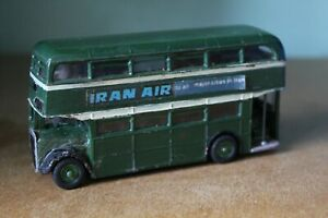 MECCANO DINKY TOYS 289 ROUTEMASTER BUS -  ALTERED - IRAN AIR / PETER STUYVESANT