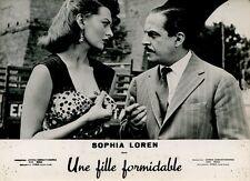 SEXY SOPHIA LOREN CARLO DOPPORTO CI TROBIAMO IN GALLERIA 1957 VINTAGE PHOTO #5