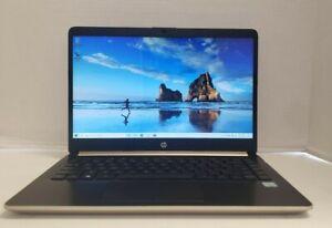 "HP 14-cf0013dx 14"" HD Intel Core i3-8130U 2.2GHz 8GB 1TB HDD W10H"
