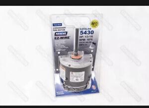 US Motors 5430 RESCUE® EZ-Wire Condenser Fan Motor, 208-230V, 1/3-1/6 HP, 1075