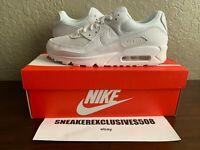 Nike Air Max 90 Triple White Mens (CN8490-100)