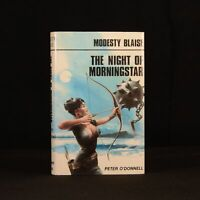 1982 Modesty Blaise The Night of Morningstar Peter O'Donnell