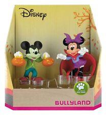 Disney Mickey Minnie Mouse Halloween Bullyland Geschenkset Sammelfiguren 15082