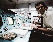 "Nasa Legend Flight Controller John Aaron hand signed 8""x10"" Photo"