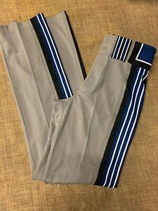 Boombah Men's Baseball Pants 32 x 36 Gray, Black and Blue