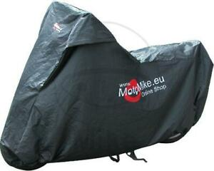 JMP Faltgarage XL 500-1000ccm Premium 100% wasserdicht MotoMike schwarz