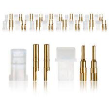 AMP Steckverbinder Stecker Buchse Heavy Duty mit Goldkontakt 10 Paar partCore 10