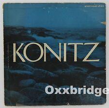 """LEE KONITZ Storyville 10"""" Jazz Vinyl LP 313 Cool 1954 Alt Saxophone Contemporary"""
