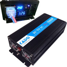 Pure Sine Wave Inverter 1500W Power Inverter 24V to 120V Off Grid LED Display