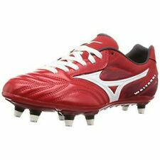 MIZUNO Rugby Spike Shoes WAITANGI PS Extra Wide R1GA1900 Red US12 30cm