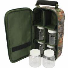 Glug Pot Bag Boilie Pop up Bait Holdall Carp Fishing Tackle Case NGT CAMO