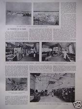 ARTICLE DE PRESSE 1930 LA FOURRURE ET LE FROID RÉVILLON FRÈRES AU FRIGORIFIQUE