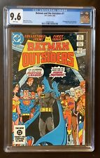 Batman And The Outsiders #1, CGC 9.6, White Pages, 2nd Outsiders appearance