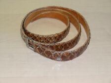 Ledergürtel Echt Schlangenleder Gürtel 1930er Jahre Antik