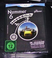 NUMMER 6 THE PRISONER DIE LEGENDÄRE MYSTERIE SERIE 4 BLU RAY + 1 DVD NEU & OVP