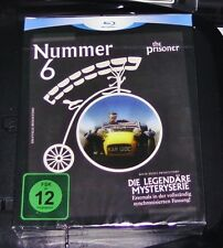 NUMMER 6 THE PRISIONER LA LEGENDÄRE MISTERIO SERIE 4 BLU-RAY + 1 DVD