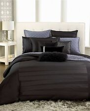 INC International Concepts Black Incline 2 Euro Shams Y141