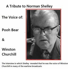 Norman Shelley  The Voice of Winston Churchill & Pooh Bear in  Children's Hour