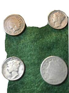 estate junk drawer Coin lot