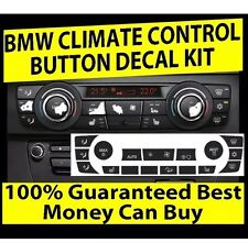 2010 BMW AC CLIMATE CONTROL BUTTON KNOB STICKERS REPAIR SET BEST ON eBAY!