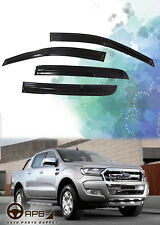 For Ford Ranger 16-19 Deflector Window Visors Guard Vent Weather Shield