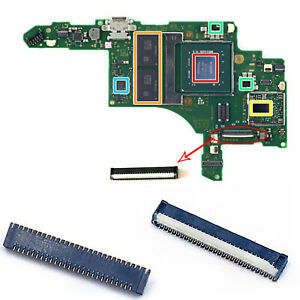 For S Switch Console Motherboard Connector Cable Slot LCD Touch Screen Display