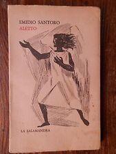 ALETTO Le inquietudini Libro primo Emidio Santoro La Salamandra 1965 letteratura