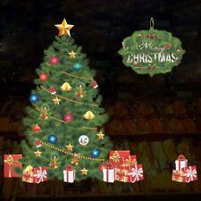 Large Christmas Tree Wall stickers Window Decal Mural Vinyl Home Decor sja