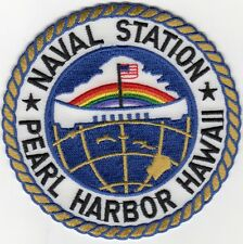 Naval Station Pearl Harbor Hawaii - BCPatch Cat No. C7220
