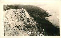 Humboldt California Pacific Ocean Redwood Highway 1930s RPPC Photo Postcard 3170