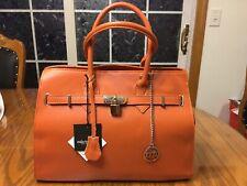 "Women's ""Mia Tomazzi"" Genuine Leather Ragusa Tote/shouder Bag"