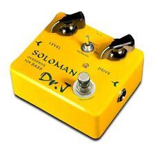 New Dr. J D-52 Soloman Bass Overdrive Bass Guitar Effects Pedal! Doctor J