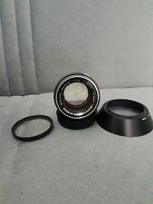 OLYMPUS OM-SYSTEM G.ZUIKO AUTO-S 50mm f1.4. Lens