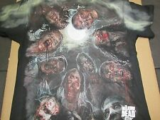 Brand New Men's Adult AMC The Walking Dead Walkers In A Huddle Cotton T-Shirt XL