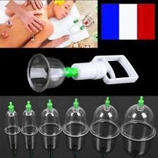 Kit 12 Ventouses Anti Cellulite Fatigue Massage Amincissant Minceur Maigrir 48h
