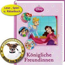 Disney Prinzessin: Königliche Freundinnen (Bilderbuch, Spiel- & Rätselbuch Xenos