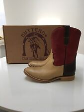 Buttero Western Cowboy Boots Size 46 Made In Italy